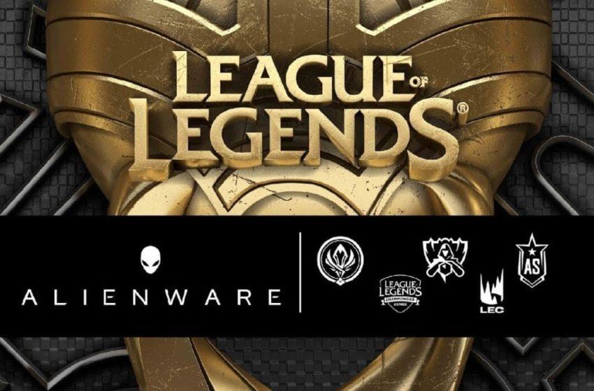 Alienware ritira la partnership con LOL