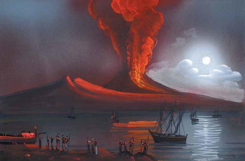 L'eruzione del Vesuvio del 79 d.C, rinvenuti a Ercolano resti vetrificati del cervello umano