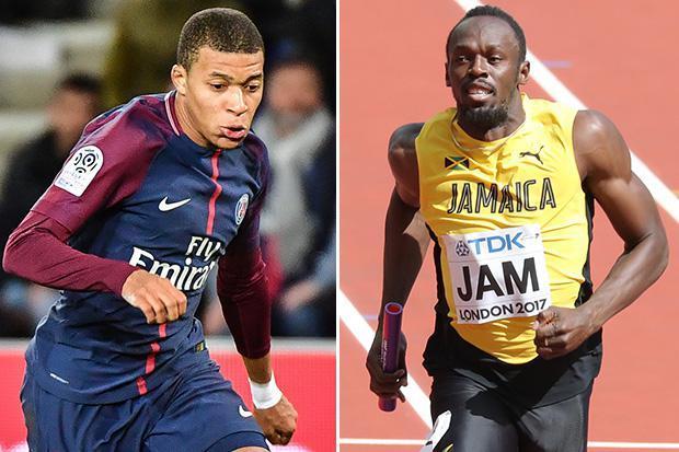 Mbappè più veloce di Bolt? La smentita