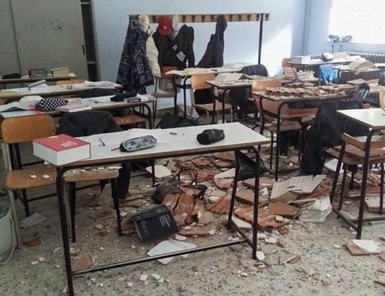 La scuola crolla in tutti i suoi aspetti