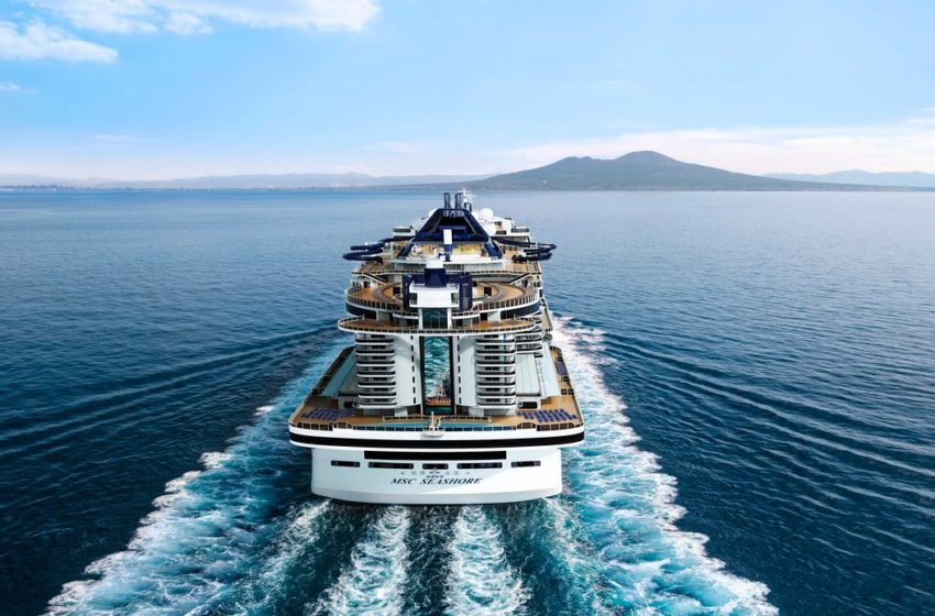 MSC presenta la più grande nave italiana mai costruita