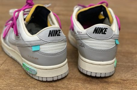 Le nuove Dunk Low by Nike x Off White