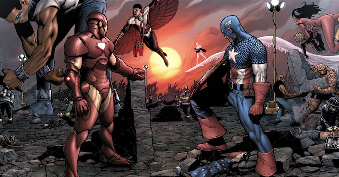 Civil War: quando i fumetti raccontano la politica