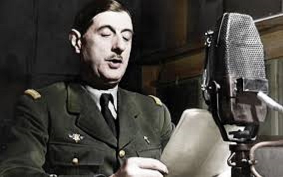 18 giugno, il famoso appello di Charles De Gaulle