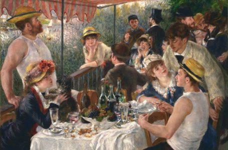"""Pierre-Auguste Renoir e la sua """"Colazione dei canottieri"""""""