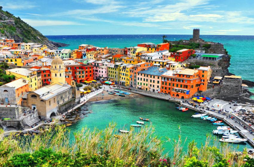 Portorosso, le Cinque Terre raccontate dalla Disney