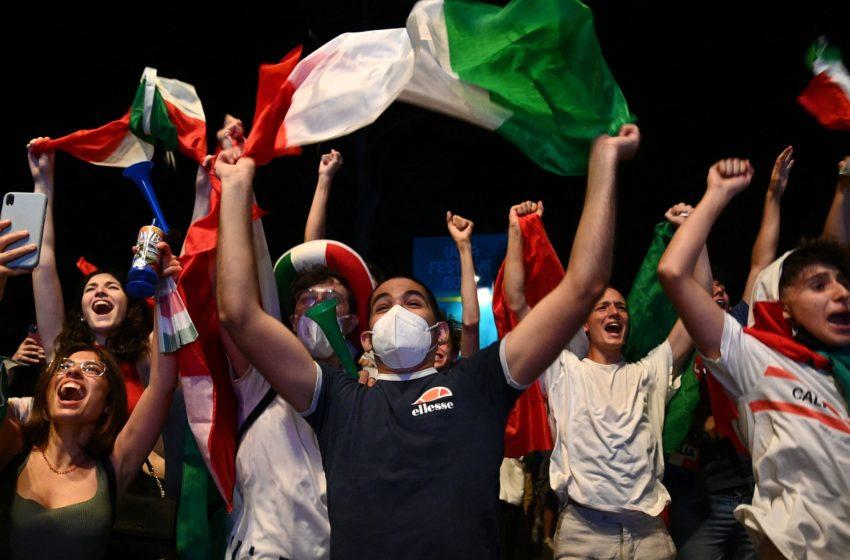 La vittoria degli Europei per i giovani italiani
