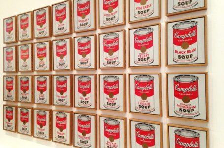 Nel luglio del 1962, Warhol presentava la sua Campbell's Soup